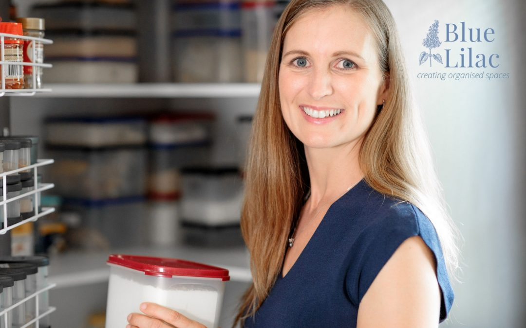 Suellen Sankey – Founder & Owner of Blue Lilac – creating organised spaces.