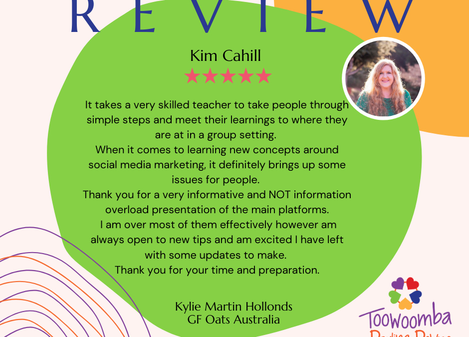 REVIEW from Kylie Martin Hollonds